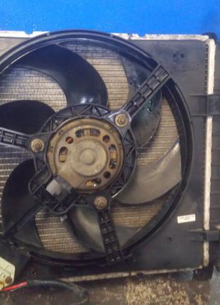 Вентилятор охлаждения, оригинальный, в сборе. Форд Ка.