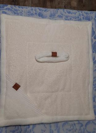 Конверт-одеяло на выписку на махре familia
