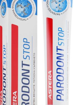 Зубная паста Astera Paradont Stop защита от парадонтита