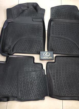 Новые оригинальные коврики на Lexus LX570