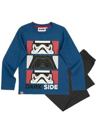 Хлопковая пижама на мальчика lego star wars звездные войны 104...