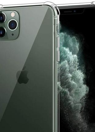 Противоударный прозрачный чехол iPhone 11 Pro Max