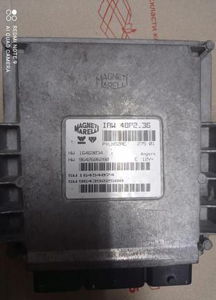 ЭБУ Блок управления двигателем IAW48P2.36 пежо Pegout 307 2.0