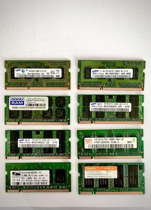 DDR2, DDR3 512mb, 1Gb SoDIMM