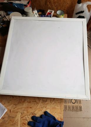 Светильник растровый встроенный опал 4х18