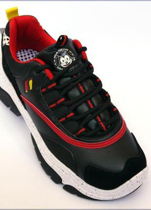 Skechers felix amp´d женские черные кроссовки оригинал 37 38 39