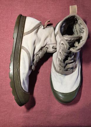 Высокие кеды ботинки palladium hi