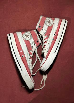 Высокие кеды converse chuck taylor all star hi premium flag