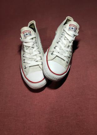 Кеды converse chuck taylor all star classic low optical white