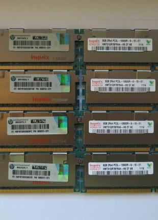 Серверная память. 64Гб. 8 по 8 Гб.