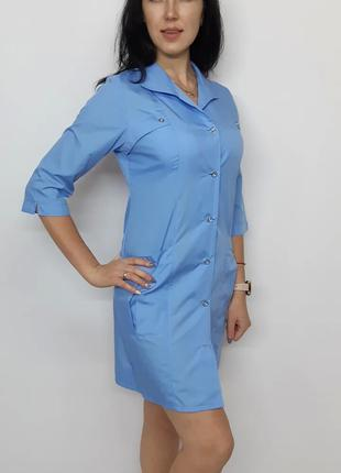 Женский медицинский халат  коттон