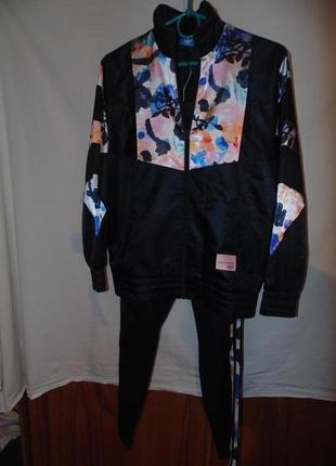Женский спортивный костюм с леггинсами лосинами  adidas equipm...