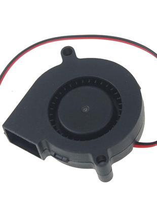 Вентилятор улитка 50мм 12в 2пин центробежный турбина кулер