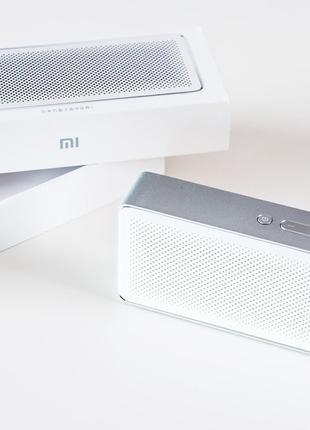 Портативная Bluetooth колонка Xiaomi Mi Speaker Square 2 Box Whit