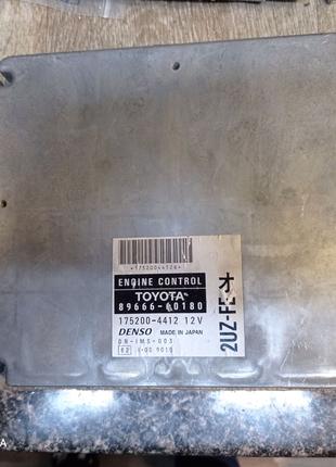 Электронный блок управления, Toyota land cruiser 100 4.7