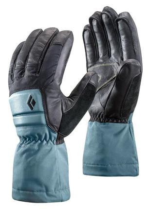 Рукавиці жіночі black diamond w spark powder gloves s/m/l caspian