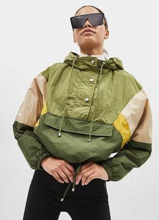 Мега стильный трендовый анорак куртка ветровка