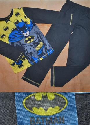 Пижама костюм для дома бетмен р.128