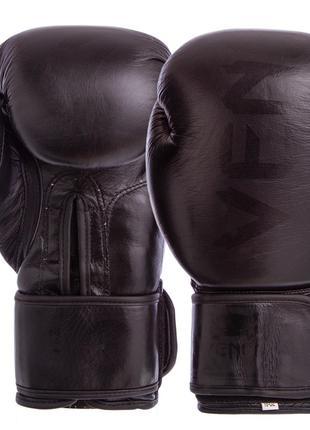 Перчатки боксерские VN BO-5238 кожа (10-12oz)