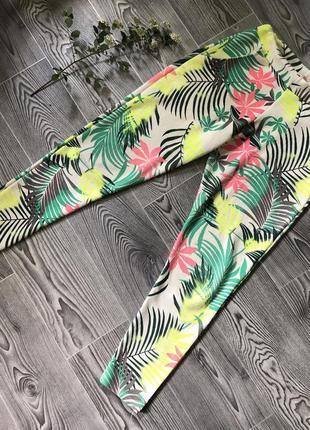 Яркие штаны бананы