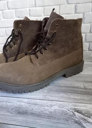 Кожаные мужские ботинки германия