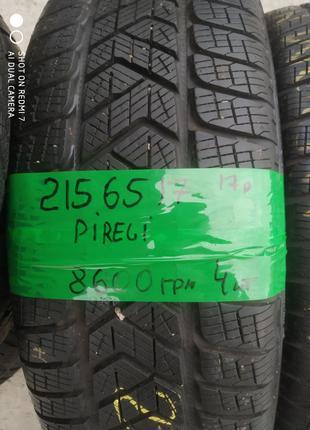Шини Pirelli 215/65/17 7,5мм 4 шт. 17-й рік