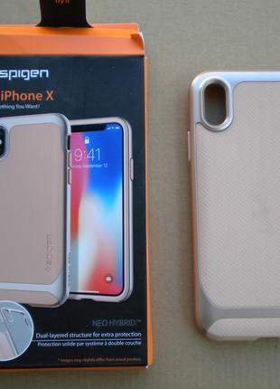 Чохол Spigen Neo Hybrid Iphone X 10 чехол