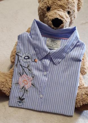 Рубашка платье с вышивкой для дома и сна размер 10-12 love to ...