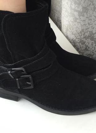 Кожаные ботинки р.39, черевики, натуральна шкіра noiz, сапоги