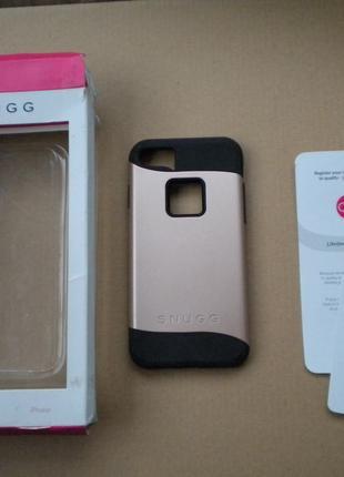Чохол чехол Snugg для iPhone 7 термополиуретан-поликарбонат