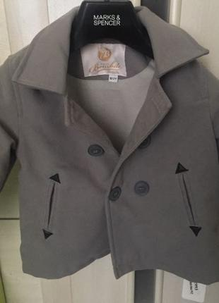 Пальто на мальчика рост 92
