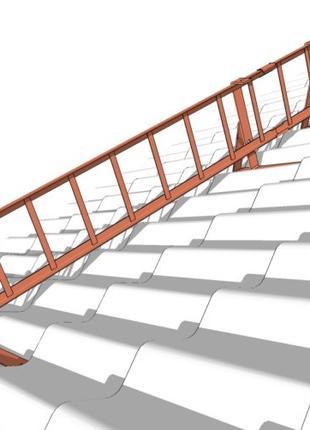 Снегозащита (снегозащитные лестницы и трубчатые системы) длина 2м