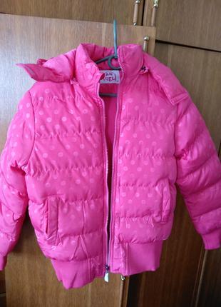 Зимова куртка для дівчинки 12-14 років