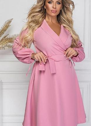 Нежное платье большие размеры