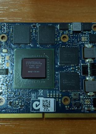 Видеокарта nVIDIA Quadro K2100M 2GB GDDR5 (G4FN0, N15P Q3 A1)