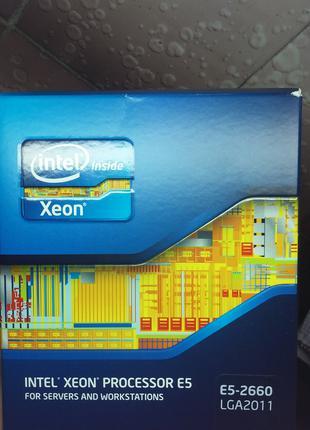 Процессор Intel Xeon E5-2660 2.2GHz/20MB/8GT/s BX80621E52660