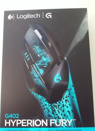 Мышь Logitech G402 Hyperion Fury USB Black