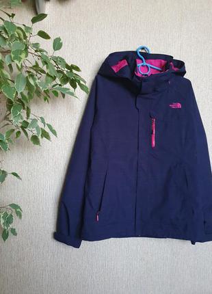 Крутая зимняя куртка 2 в 1 the north face, оригинал