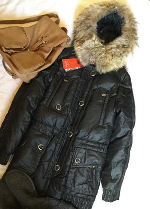 Новый с биркой пуховик куртка аляска парка зимняя hailuozi цве...