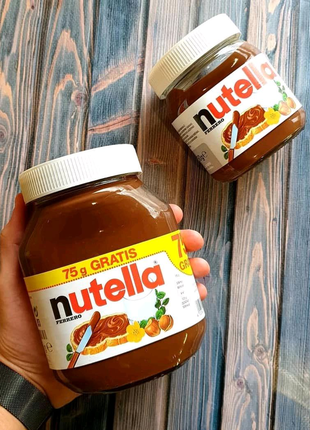 Шоколадная паста Nutella нутелла 825 гр Германия