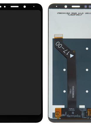 Сенсорный Модуль для Xiaomi Redmi 5 Plus черный Оригинал