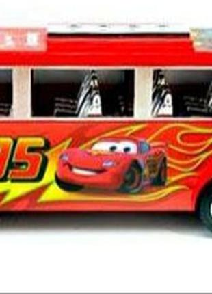 Большой автобус Тачки Маквин инерционный