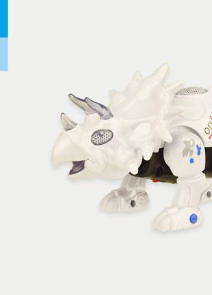 Интерактивное животное 3112 (1906261) (60шт/2)батар, динозавр, св