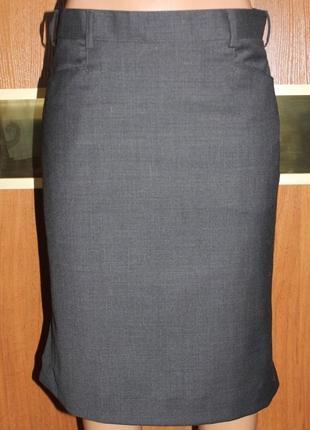 строгая юбка карандаш шерсть, карманы ted bernhardtz at work
