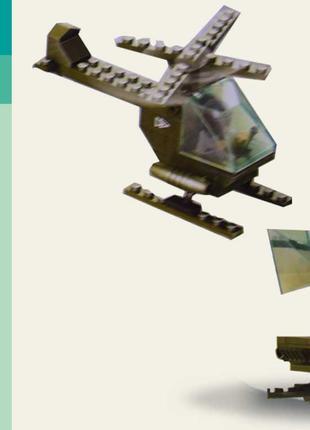"""Конструктор SLUBAN M38-B5700 (180шт) """"Армия"""" 51 дет, в разобр. ко"""