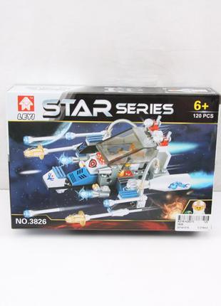 Конструктор STAR 3826/7/8/9 (120шт/2) 120 дет, в коробке 22*15*5