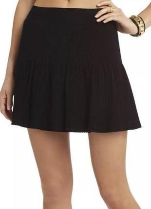 Ультра модная бандажная юбка гофре солнце-клёш от бренда bcbg
