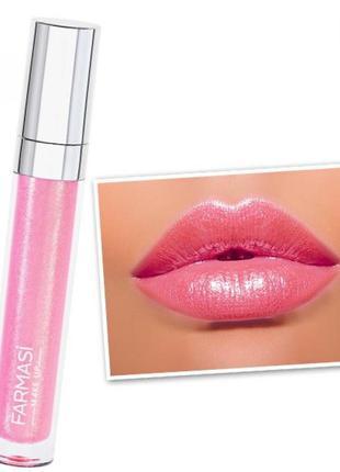 Блеск для губ miss sparkle farmasi, 01 сладкий розовый,4,5мл