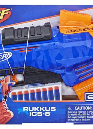 Бластер Nerf N-Strike Elite Rukkus ICS-8