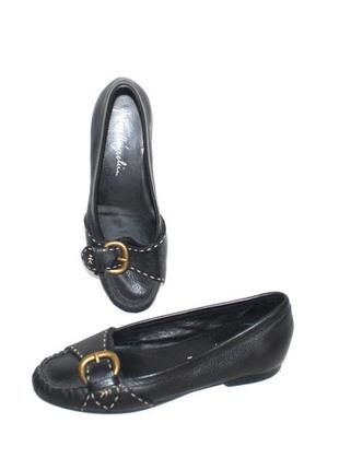 Туфли мокасины кожа люкс бренд henry beguelin италия